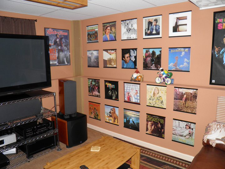 record frames 12_home_theatre_wall_display_with_record_album_frames_1 13_home_theatre_wall_display_with_record_album_frames_2