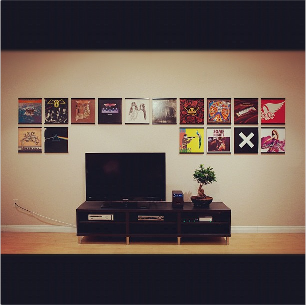Hanging Records On Wall image gallery - records on walls