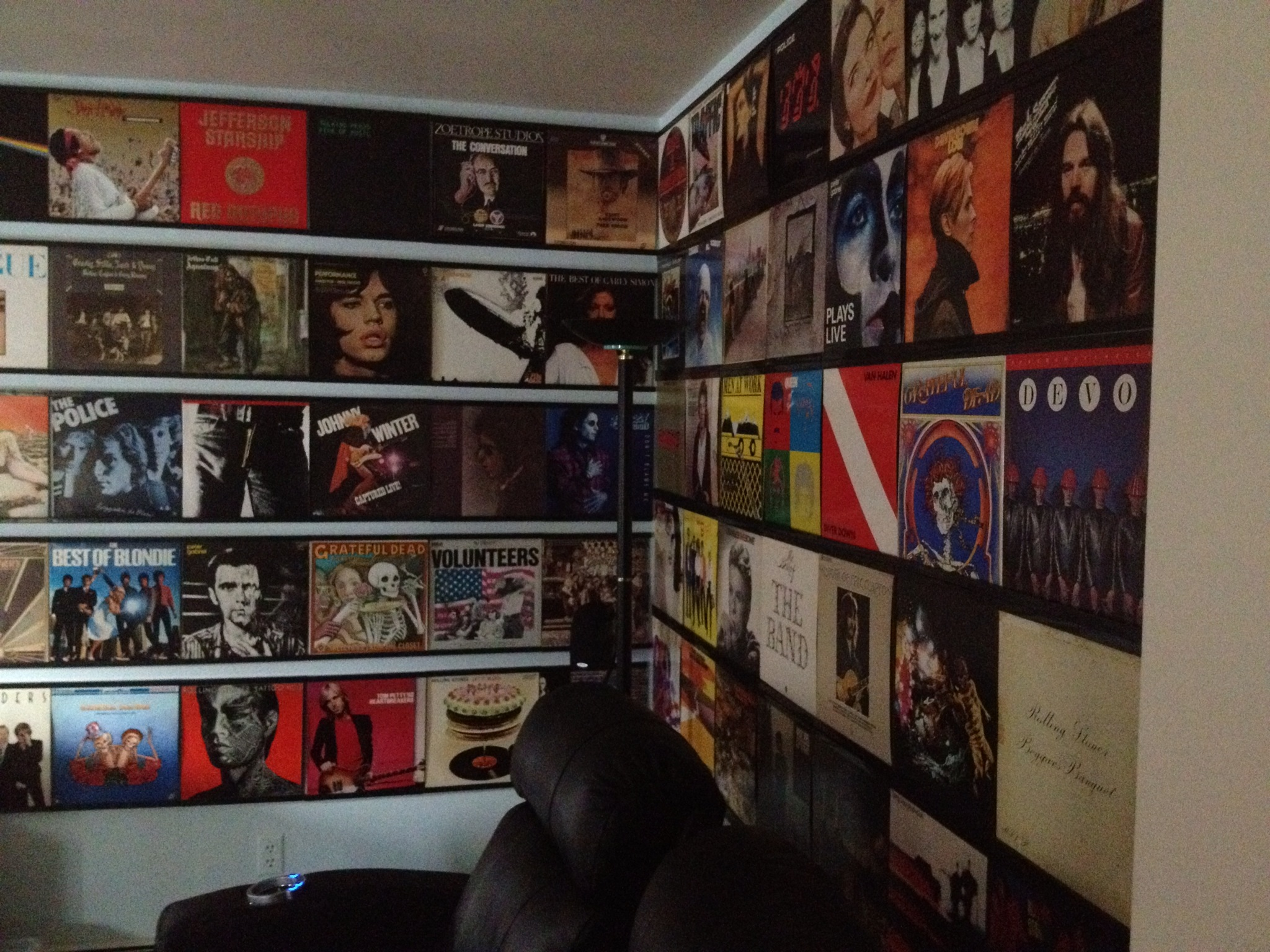 Panoramic Record Frames - Records On Walls