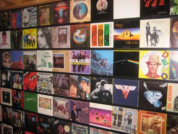 The Wall Records On Walls