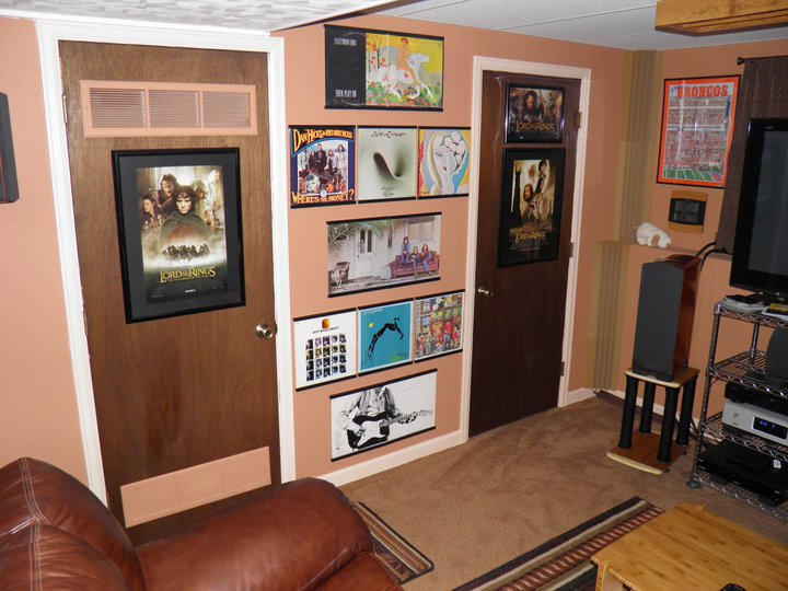 12 Home Theatre Wall Display With Record Al Frames 1 13 2